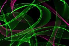 Abstrakte dynamische Linien Hintergrund Lizenzfreie Stockbilder