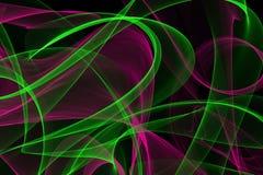 Abstrakte dynamische Linien Hintergrund Stockbild