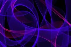 Abstrakte dynamische Linien Hintergrund Lizenzfreies Stockbild