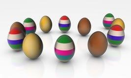 Abstrakte Eier Stockbild