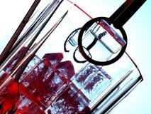Abstrakte Eis-Hintergrund-Auslegung Stockfoto