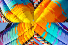 Abstrakte Elemente des Drachens für Hintergrund stockfotografie