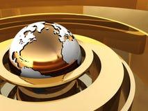 Abstrakte Erde stock abbildung