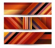 Abstrakte Fahne für Ihr Design Stockfoto