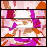 Abstrakte Fahne für Ihr Design. Lizenzfreie Stockfotos