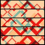 Abstrakte Fahne für Ihr Design Stockfotografie