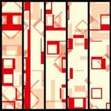 Abstrakte Fahne für Ihr Design Stockbilder