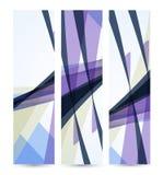 Abstrakte Fahne für Ihr Design, buntes digitales Lizenzfreie Stockfotografie