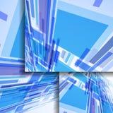 Abstrakte Fahne für Ihre Auslegung. Stockbild