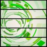 Abstrakte Fahne für Ihren Entwurf. Lizenzfreie Stockfotos