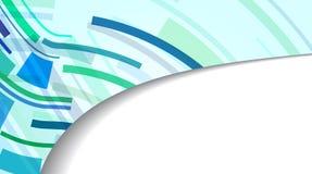 Abstrakte Fahne für Ihren Entwurf Lizenzfreie Stockfotos