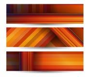 Abstrakte Fahne für Ihren Entwurf Lizenzfreies Stockbild