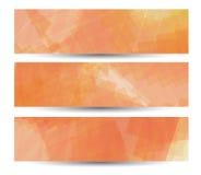 Abstrakte Fahne für Ihren Entwurf, buntes digitales Stockfotografie