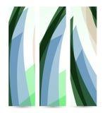 Abstrakte Fahne für Ihren Entwurf, buntes digitales Stockbilder