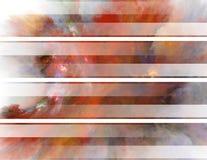 Abstrakte Fahnen Stockfotos
