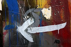Abstrakte Farben Lizenzfreies Stockfoto