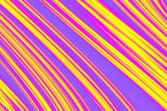 Abstrakte Farben-Streifen Stock Abbildung