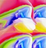Abstrakte Farbenauslegung Abstrakte Grafiken Abstraktion Auszug lizenzfreie stockbilder