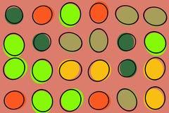 Abstrakte Farbenillustrationskunst Lizenzfreie Stockfotografie