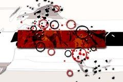 Abstrakte Farbentwurfskunst Lizenzfreie Stockbilder