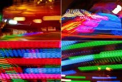Abstrakte Farbenunschärfen Stockbilder