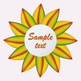 Abstrakte Farbmaschenblume Stockfotografie