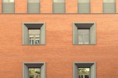 Abstrakte Fassade Lizenzfreies Stockfoto