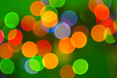 Abstrakte Feiertags-Leuchten Stockfoto