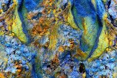 Abstrakte Felsen-Anordnung Lizenzfreie Stockfotografie