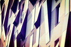 Abstrakte Fenster Stockbild