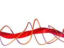 abstrakte festliche Auslegung 3D lizenzfreie abbildung