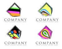 Abstrakte Firmenzeichen Stockbild