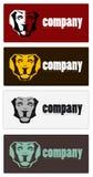 Abstrakte Firmenzeichen Stockfoto