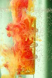 Abstrakte flüssige Farben stockbilder