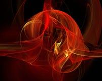Abstrakte Flamme Stockfoto