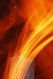 Abstrakte Flammebeschaffenheit Lizenzfreies Stockfoto