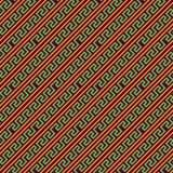 Abstrakte Form-Stammes- Vektor-Muster Lizenzfreie Stockfotografie
