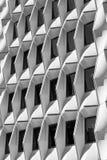 Abstrakte Formen eines Gebäudes Stockfotografie
