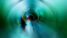 Abstrakte Fotos innerhalb der verwischten Aquarium Fotozusammenfassung summen laut Viele Farben Lizenzfreies Stockfoto