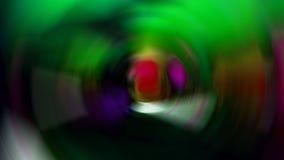 Abstrakte Fotos innerhalb der verwischten Aquarium Fotozusammenfassung summen laut Viele Farben Stockfotografie