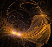 Abstrakte Fractal-Auslegung lizenzfreie abbildung