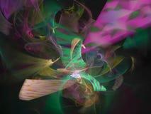 Abstrakte Fractalenergie Digital, Artentwurf, Fantasie, festlich stock abbildung