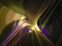 Abstrakte Fractalphantasie Digital, schöner Entwurf festlich stock abbildung