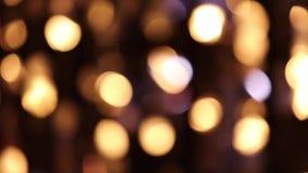 Abstrakte funkelnde Lichter stock video