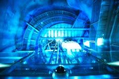 Abstrakte futuristische Maschine Stockfotografie