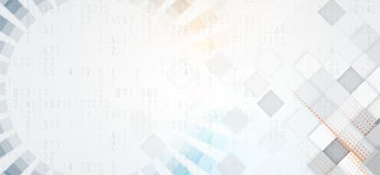 Abstrakte futuristische verblassen Computertechnologie-Geschäftshintergrund Lizenzfreies Stockbild