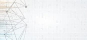Abstrakte futuristische verblassen Computertechnologie-Geschäftshintergrund Stockfotos