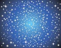 Abstrakte Galaxie mit Sternen Lizenzfreie Stockfotografie