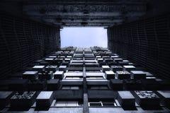 Abstrakte Gebäudeansicht Lizenzfreie Stockfotografie