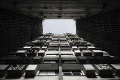 Abstrakte Gebäudeansicht Stockbilder